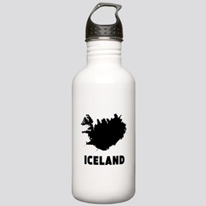 Iceland Silhouette Water Bottle